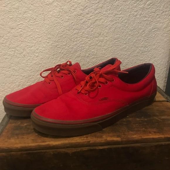 red vans size 13